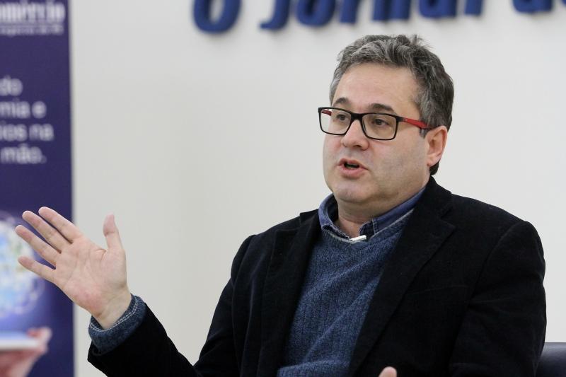 Roberto Robaina em entrevista ao Jornal do Comércio