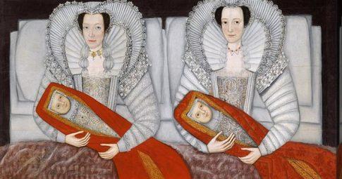 """""""The Cholmondeley Ladies"""" c. 1600-10"""