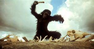 """Cena de """"2001: Uma Odisseia no Espaço"""", Stanley Kubrick, 1968"""
