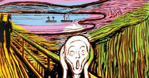 Andy Warhol, The Scream (After Munch), 1984.