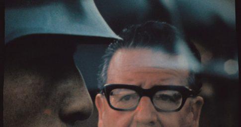 O então presidente chileno Salvador Allende, em 1971 -  Raymond Depardon