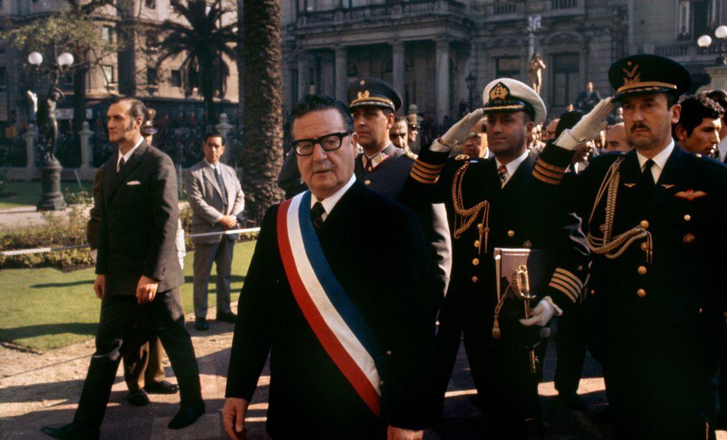 Influência dos agentes externos na queda de Salvador Allende