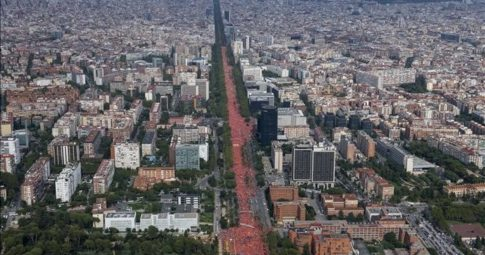Diada da Catalunha: a força republicana que não cessa