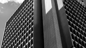 Detalhe da sede do Banco Central, em Brasília - Reprodução