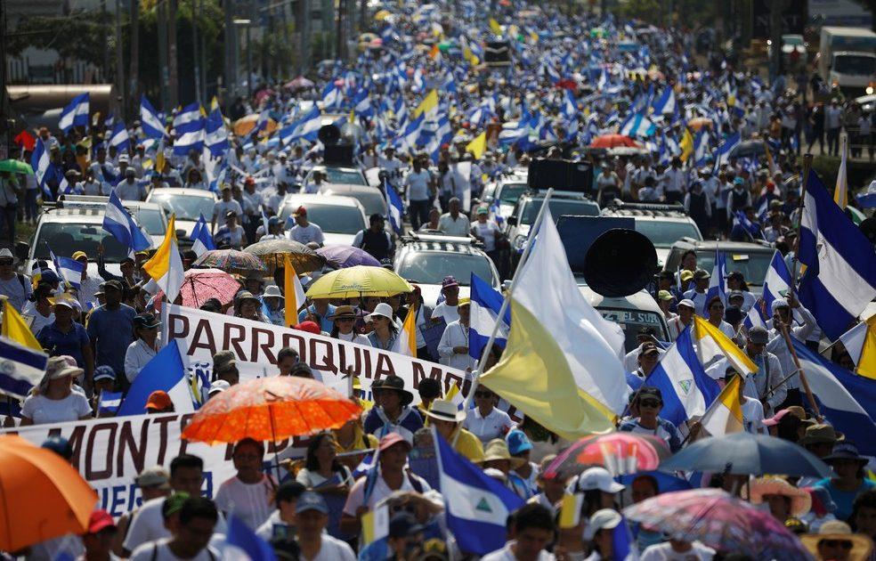 A caravana de solidariedade à Nicarágua e a esquerda brasileira