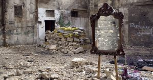 Imagem da cidade de Aleppo, em 2013 - Jérôme Sessini