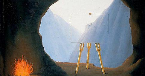 """René Magritte, """"La condition humaine"""", 1935"""