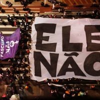 Impulsionar o movimento democrático para derrotar Bolsonaro no segundo turno