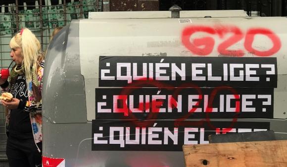 Todos contra o G20 e a extrema-direita!