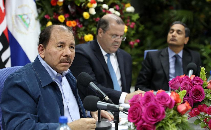 Daniel Ortega teve o apoio do FMI e desenvolveu uma política a favor do grande capital