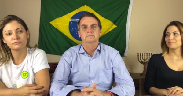 REPRODUÇÃO/FACEBOOK JAIR MESSIAS BOLSONARO