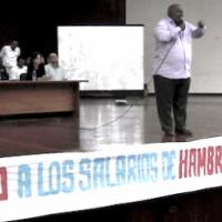 Proclamação da intersetorial de trabalhadores da Venezuela