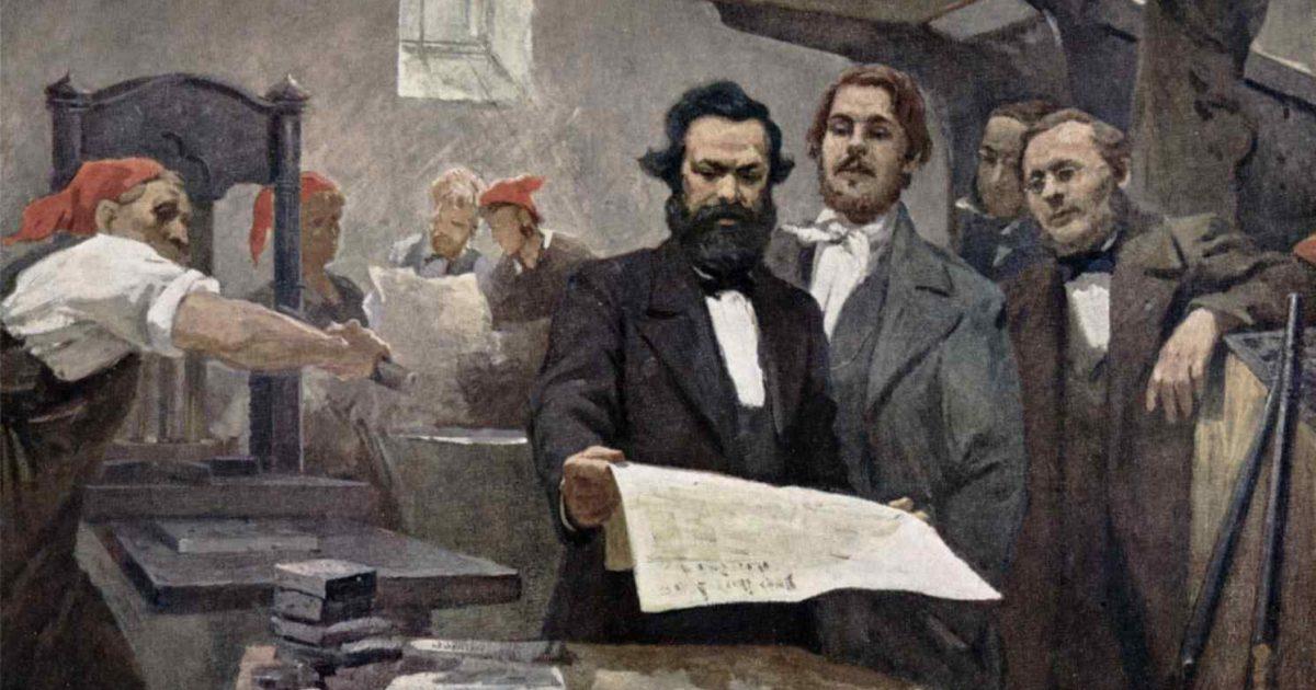 A Correspondência entre Marx e Engels