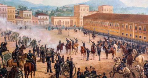 """Proclamação da República"""", 1893, Benedito Calixto"""