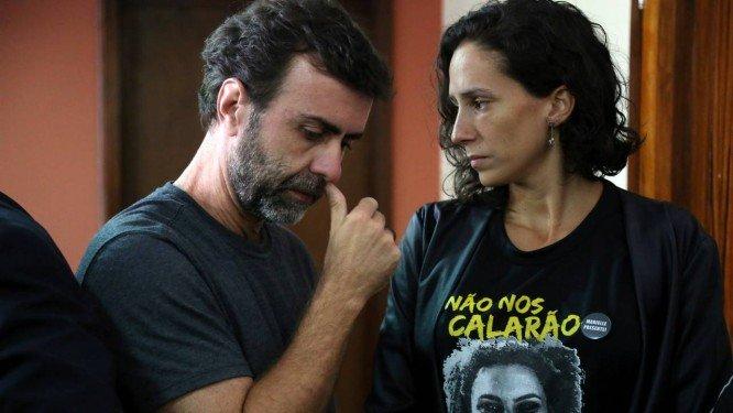 Justiça para Marielle e Anderson! Pela imediata prisão dos envolvidos no plano para executar Marcelo Freixo!