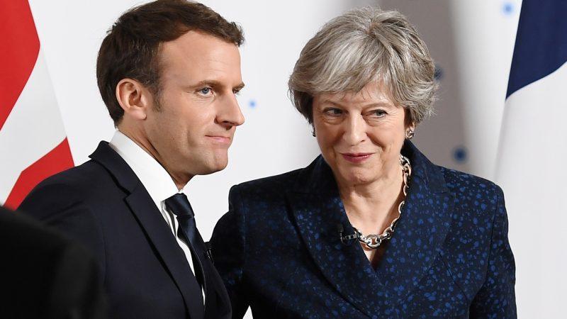 Londres e Paris no tormento europeu