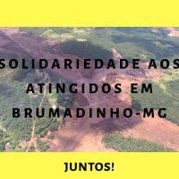 Solidariedade, atitude e respostas pelos atingidos em Brumadinho
