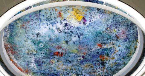 Vista da cúpula da sede do Conselho de Direitos Humanos das Nações Unidas no Palácio das Nações, em Genebra - Reprodução