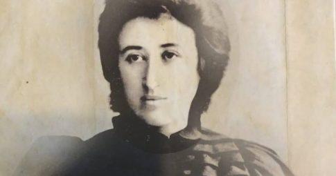 Detalhe da capa de livro organizado por Isabel Loureiro sobre Rosa Luxembrugo