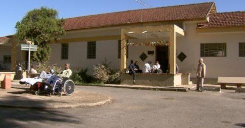 Fachada do antigo Hospital Colônia de Barbacena - Tv Brasil/Reprodução