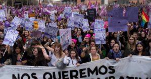 8 de março de 2018 em Madrid, Espanha
