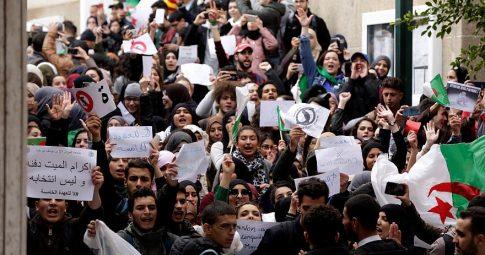 Solidariedade com o povo argelino em sua luta pela soberania popular!