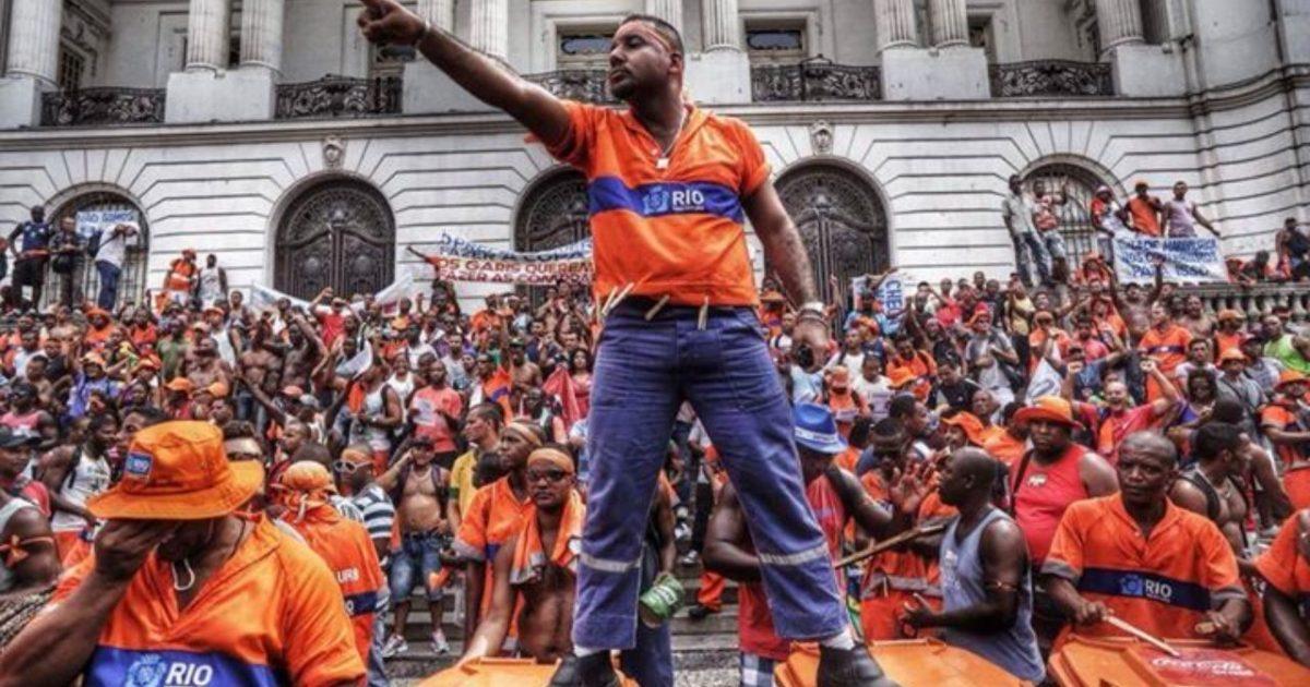 Todo apoio à greve dos garis do Rio de Janeiro