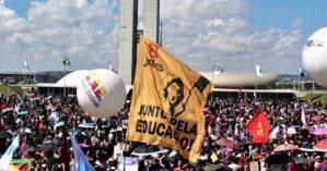 Ato pela educação de 15 de maio em Brasília