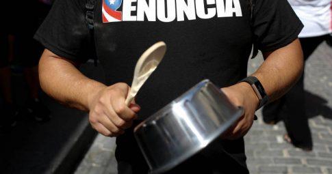 Protestos em Porto Rico: um processo em disputa