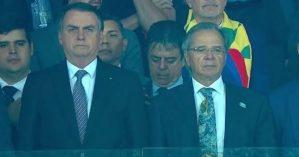 Bolsonaro vaiado no Mineirão – Reprodução