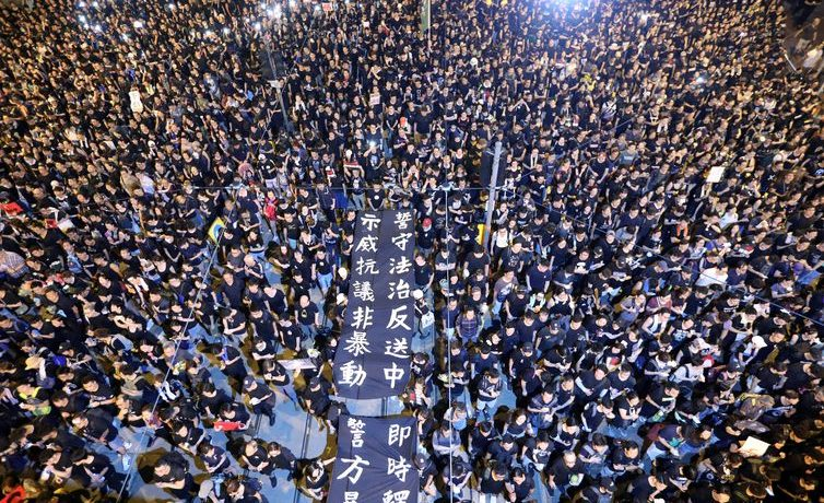 Todo apoio às mobilizações de Hong Kong