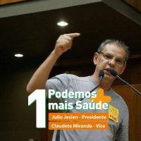 Intervenção de Etevaldo Teixeira após a vitória da chapa 1 na eleição do Sindsaude-RS