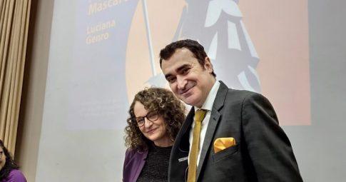 Luciana Genro e Alysson Mascaro. Foto: Samir Oliveira.