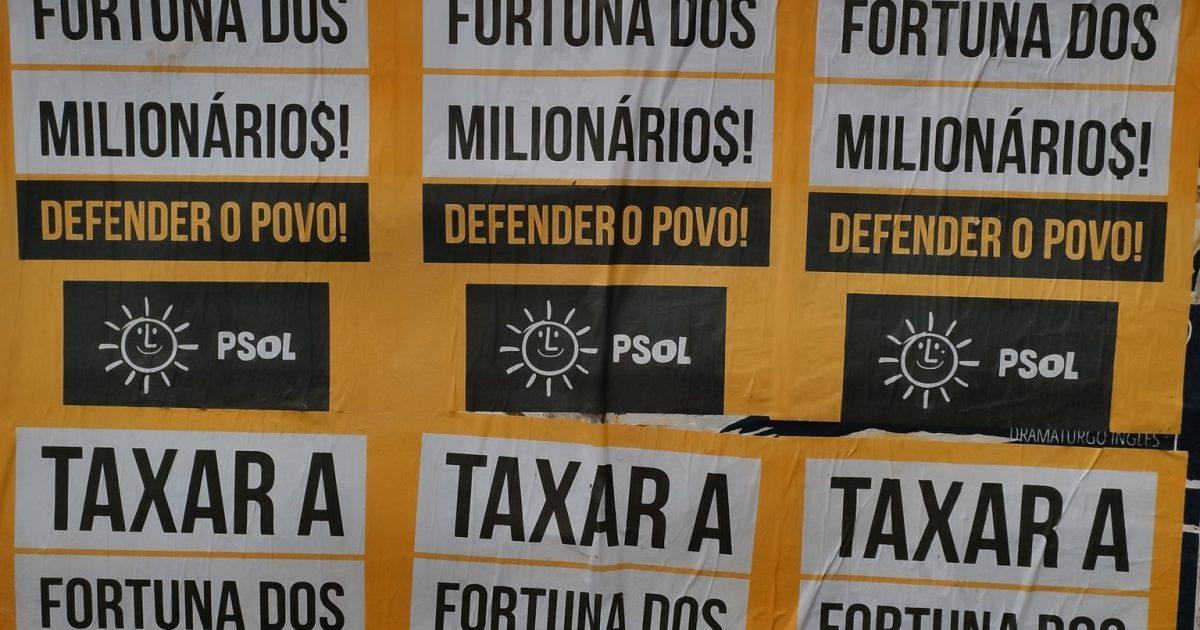 Taxar os milionários para defender os interesses do povo