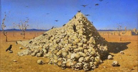 A Apoteose da Guerra, Vasily Vasilievich Verechagi