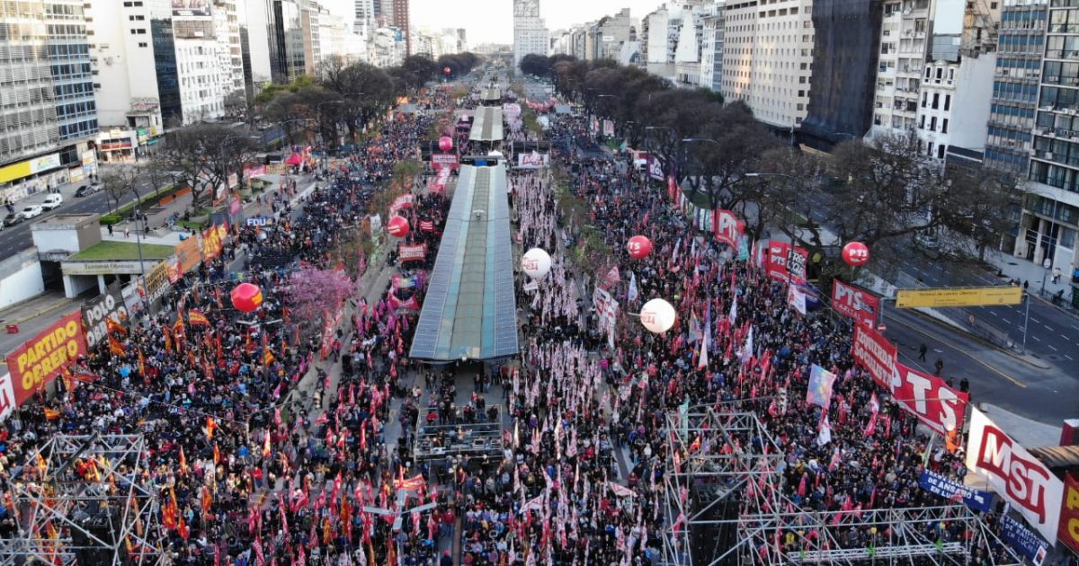 Na Argentina, todo apoio à FIT Unidade!