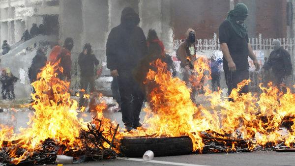Barricadas chilenas