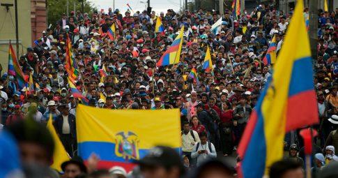 Comissão da Câmara aprova moção em solidariedade à rebelião no Equador