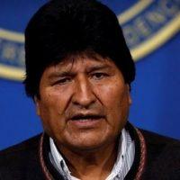 Repúdio ao golpe de Estado na Bolívia