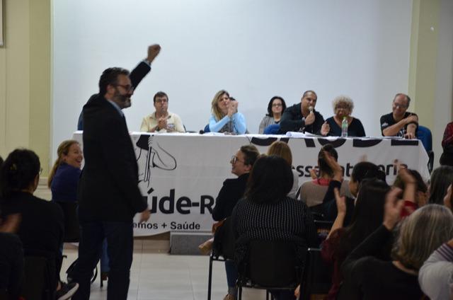 Vigília e mobilização no IMESF