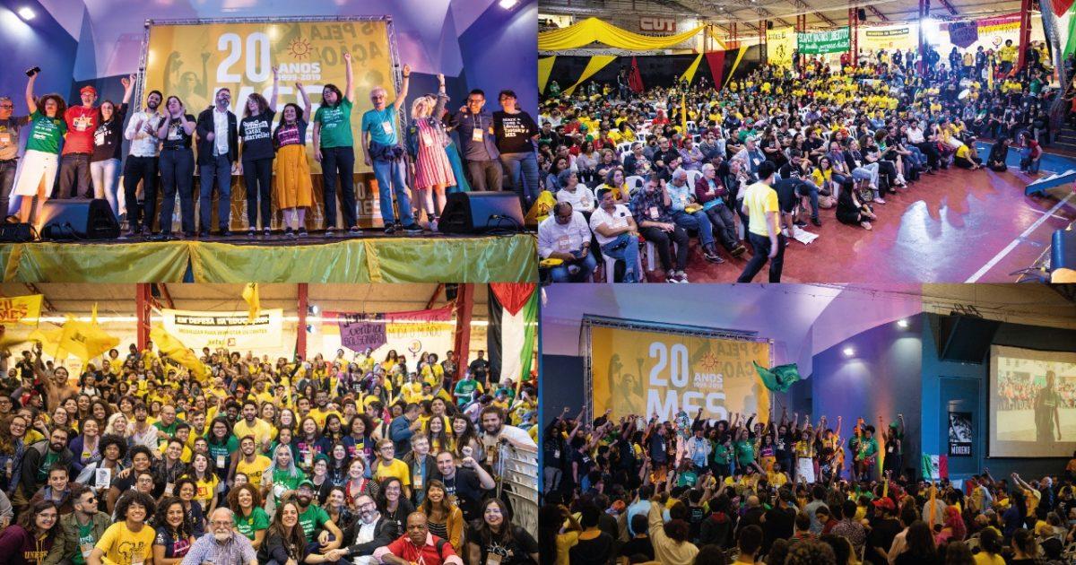 Preparando as lutas do futuro, Encontro Nacional de 20 Anos do MES lota a quadra dos bancários em São Paulo
