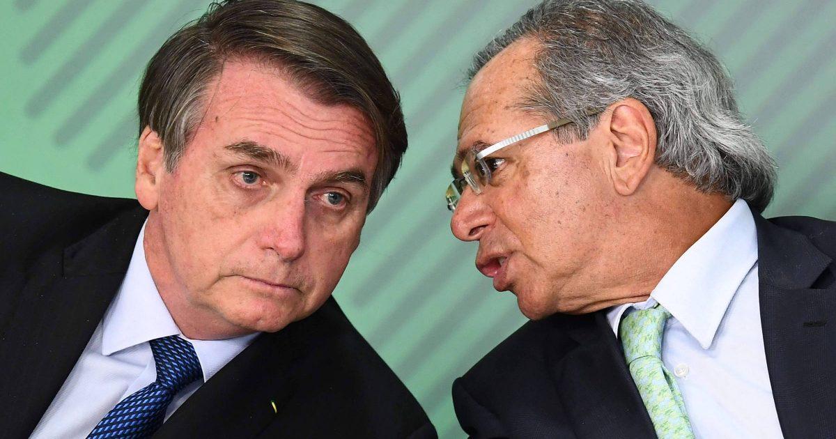 Bolsonaro e Guedes: inimigos do serviço público; inimigos do povo