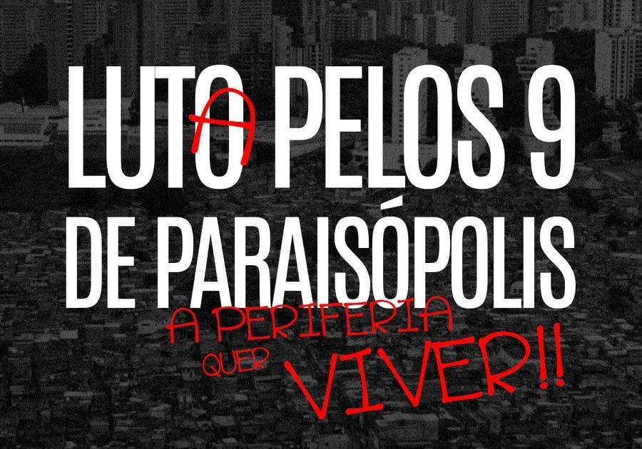 A Rede Emancipa chora as mortes de Paraisópolis!