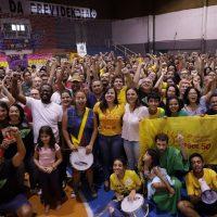 Plenária #VaiTerSâmia reúne mais de 500 militantes do PSOL em SP