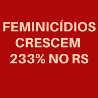 É preciso parar os feminicídios!