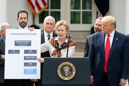 "Covid-19: Trump quer ""desviar"" para os EUA a empresa alemã que investiga vacina"