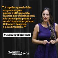 MP 936 de Bolsonaro: não é hora de cortar salários, e sim taxar os muito ricos!