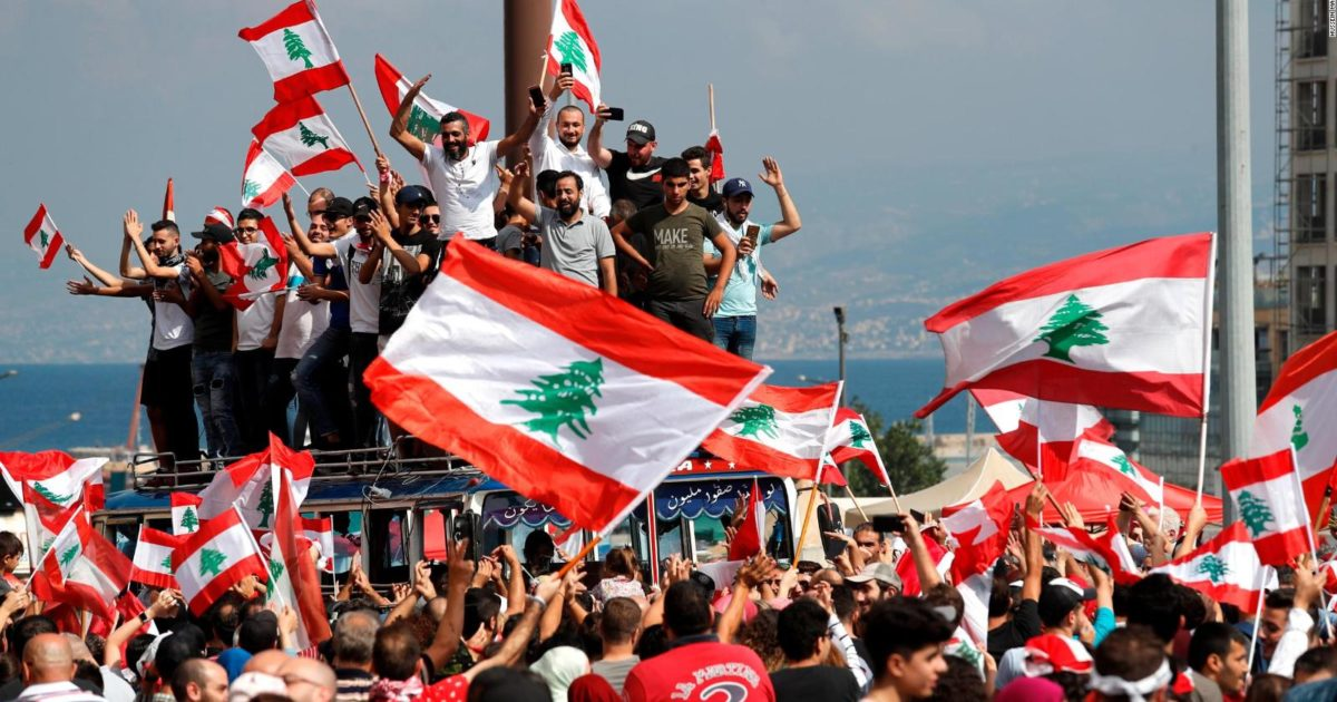 A rebelião libanesa como fio de continuidade