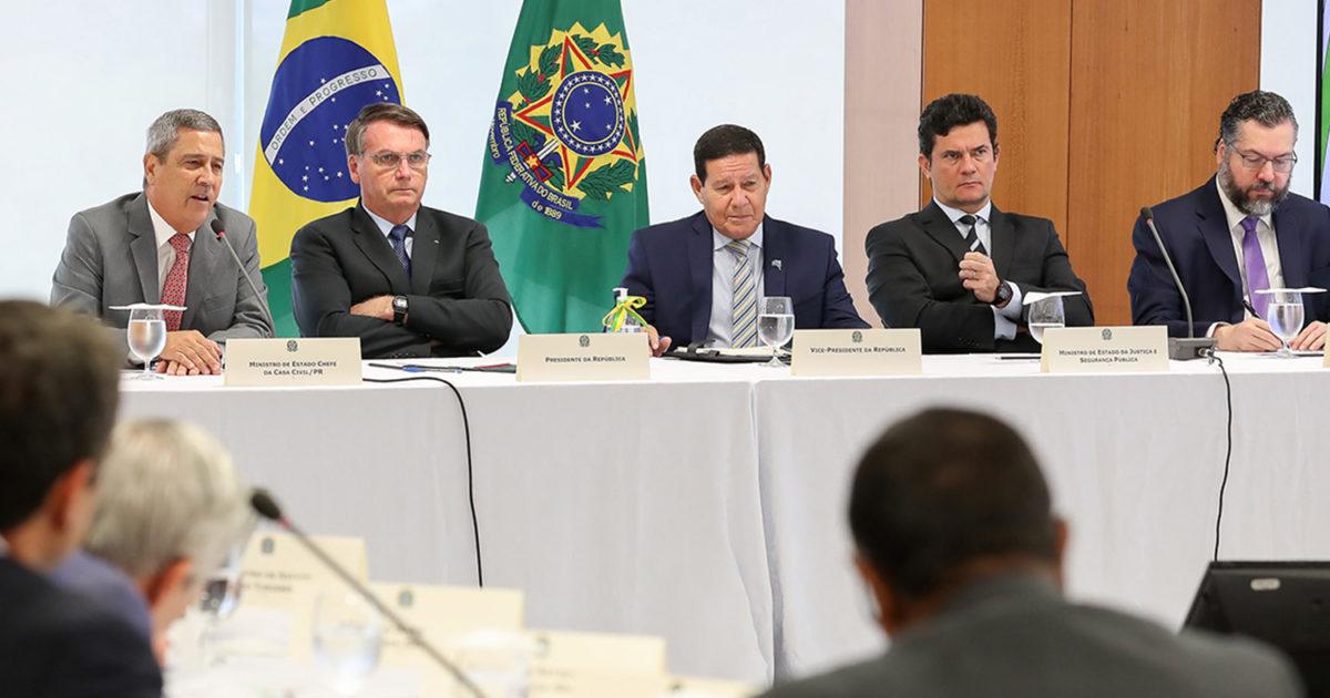 Sobre a reunião ministerial de 22 de abril