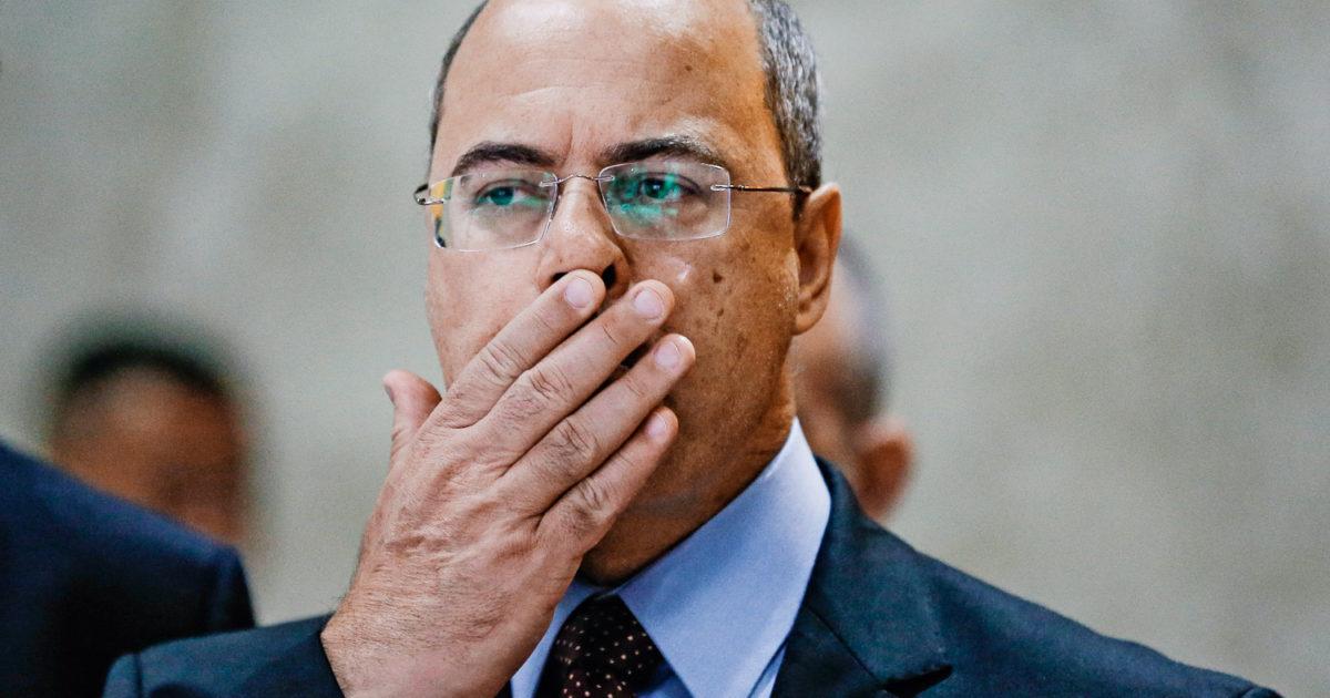 Crise política no governo Witzel: corrupção e ataques aos servidores públicos